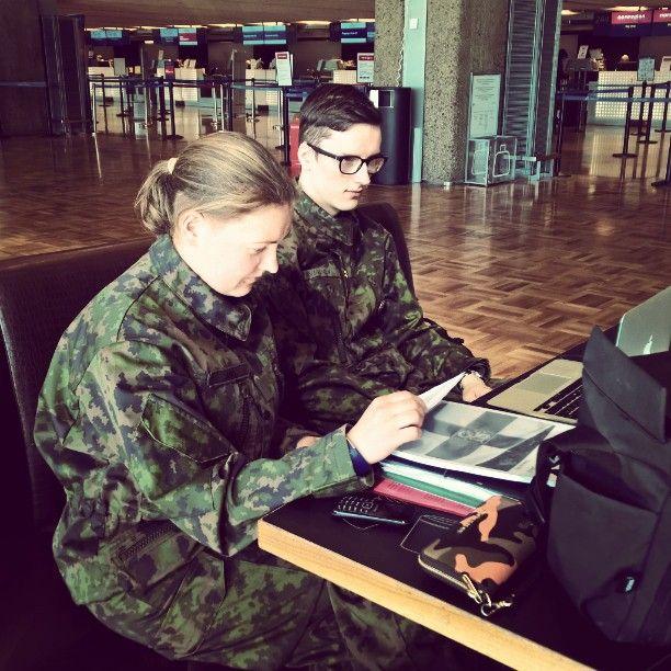 Viestintähommia. Kohteena Oulu. #erityistehtävä #paraati15 #paraatissaparasta #tj16 #ressu #intti