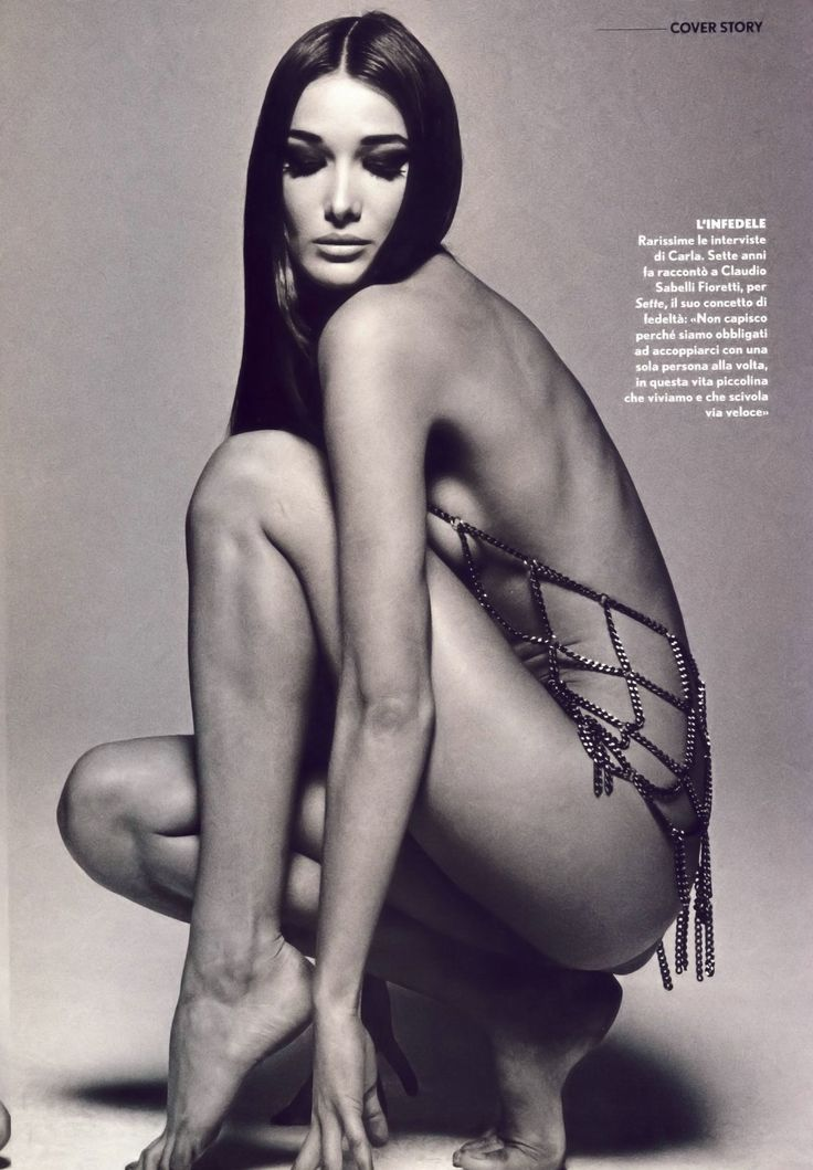 Has Carla Bruni ever been nude? - Nudographycom