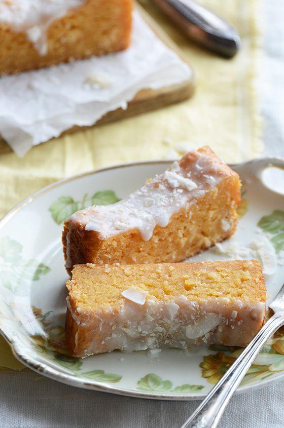 Tropical Papaya-Coconut Cake | An Edible Mosaic