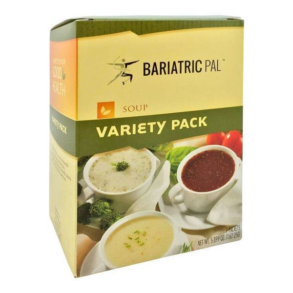 BariatricPal Protein Soup - Variety Pack