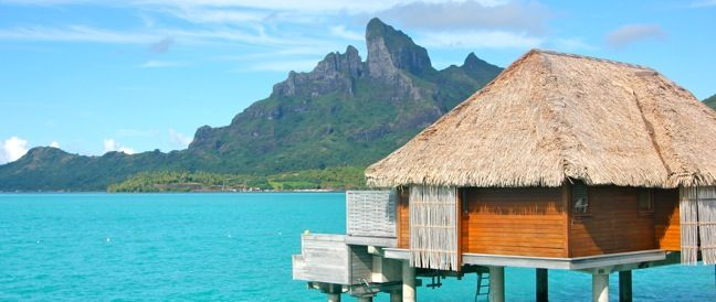 The most romantic places that @Green Global Travel have stayed- including the Four Seasons Bora Bora. Talk about magical.