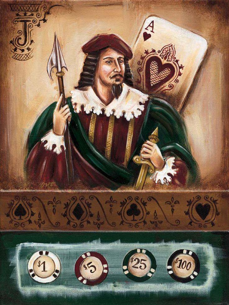 » Blog Archive » Художник Wendy Fields. Игральные карты и шахматы. Картинки для декупажа.