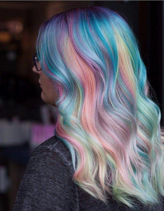 Cute Hair Colors, Hair Dye Colors, Hair Color Blue, Cool Hair Color, Bright Hair Colors, Colourful Hair, Party Hairstyles, Cool Hairstyles, Dyed Hair Pastel