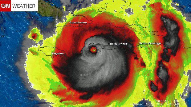 Sokkot kaptak a meteorológusok, amikor meglátták a Matthew hurrikán radarképét - Ripost