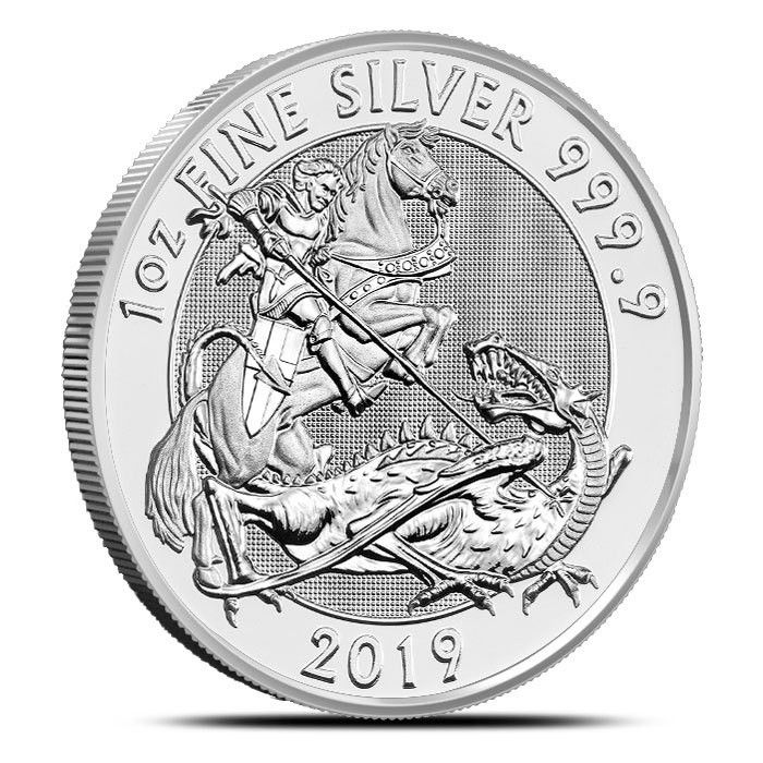 Compare Prices For 1 Oz 2019 British Valiant Silver Coin From 9 Dealers Silver Bullion Coins Silver Bullion Bullion Coins