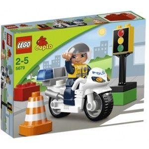 LEGO DUPLO 5679 Motocykl policyjny