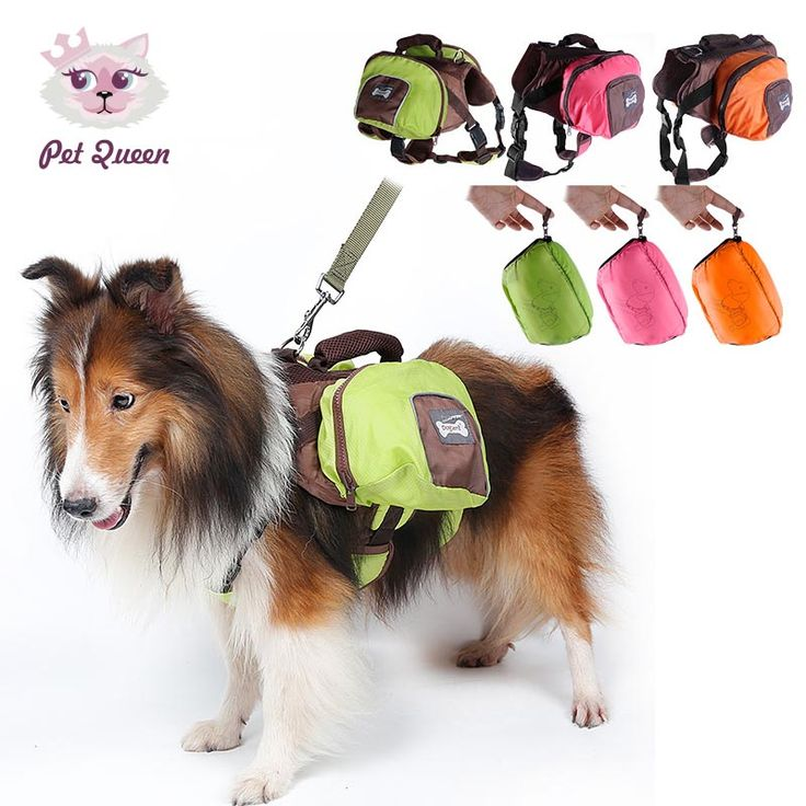 foldable Outdoor dog Saddle backpack bag pet cat dog carrying bags Medium and Large Dog Pack Bag for Hiking Training pet carrier