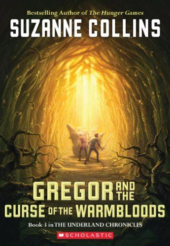 "Ted is devouring Gregor the Overlander.  He will be ready for the third book ""Gregor And The Curse Of The Warmbloods"" (Underland Chronicles, Book 3) by Suzanne Collins, in time for his 8th birthday 2013."