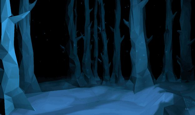 Oh, and the graphics are seriously beautiful – you travel through (I'm assuming) the Forbidden Forest as you answer the questions, and it gives you little ~hints~ of your Patronus. | The Pottermore Patronus Quiz Is Finally Here And It's Utterly Magical
