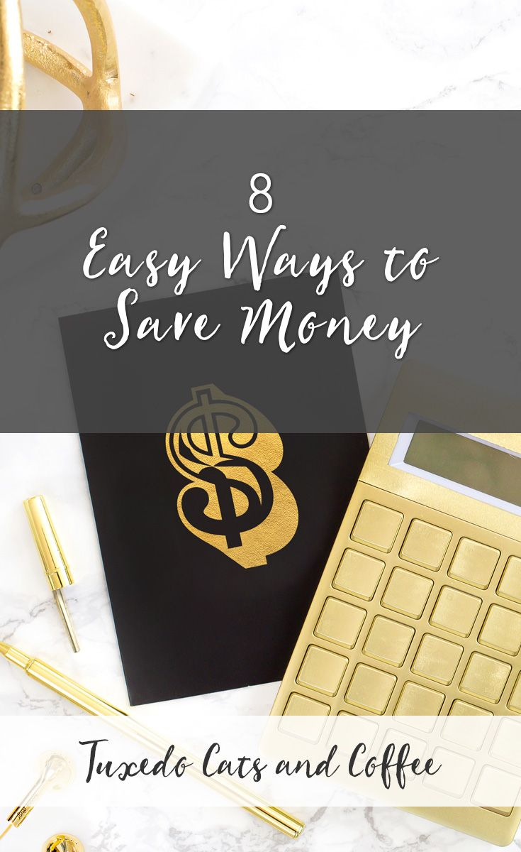 If you're new to the idea of frugal living and budgeting, let me introduce you to a few timeless, classic ways to save money every month that aren't as ridiculous as reusing toilet paper. Frugal living doesn't have to mean suffering. Here are 8 easy ways to save money.