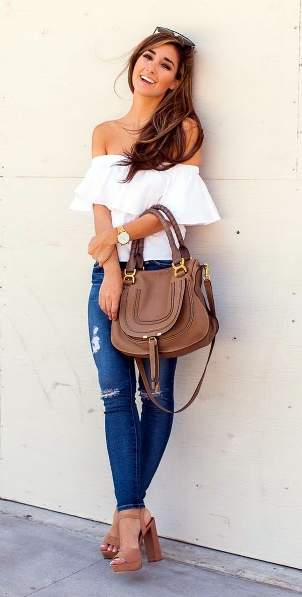 Love this....maybe with a cold shoulder top instead