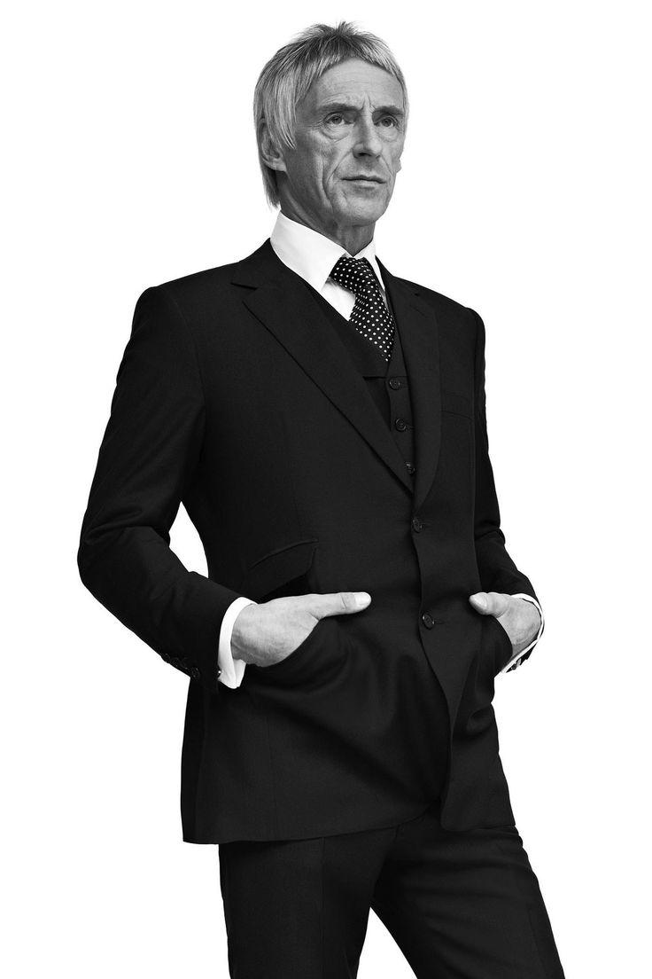 Paul Weller. In H. Huntsman, Budd, and Turnbull & Asser. Happy Birthday 25th May