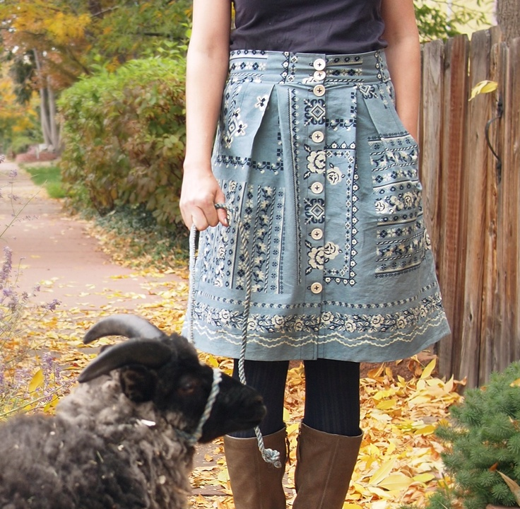 Amber's Kelly Skirt by Megan Neilsen (via Fancy Tiger)