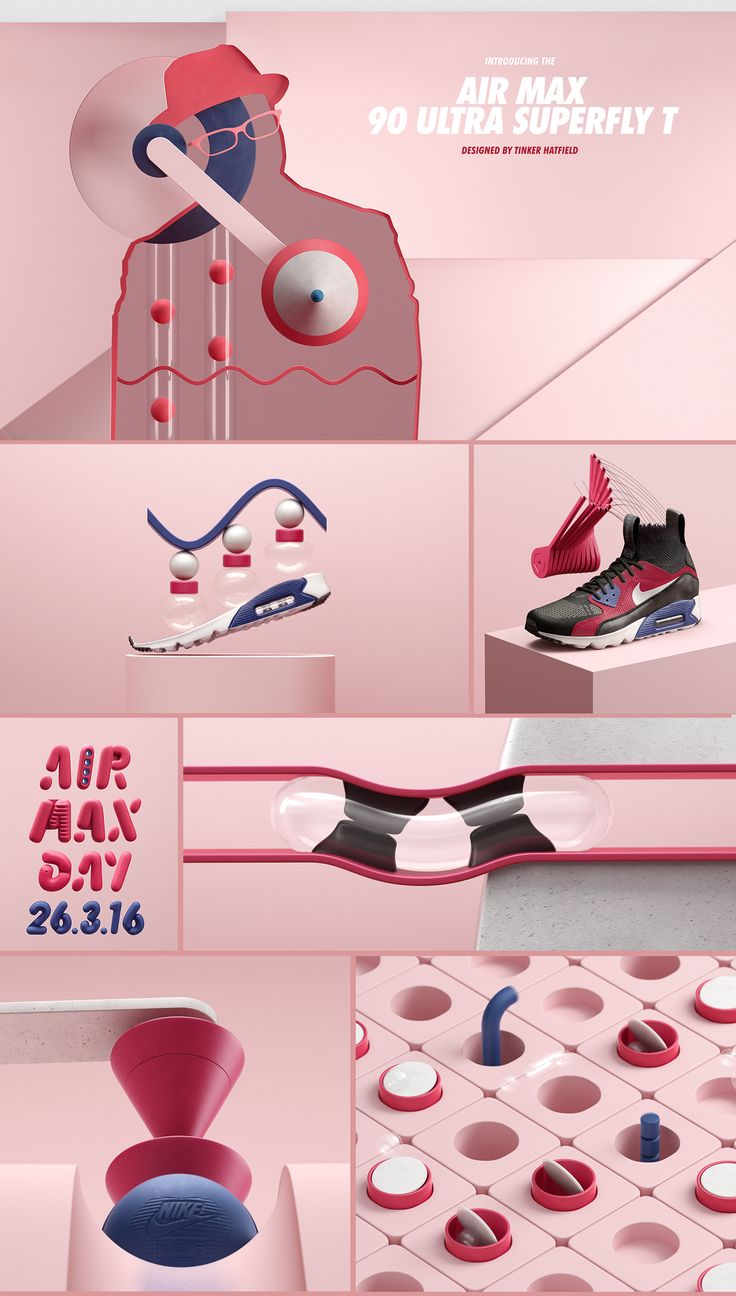 From ManvsMachine:A worldwide celebration of the iconic Air Max.The three most influential sneaker designers in the world come together to celebrate Air Max Day '16. We worked closely with Nike Sportswear to conceptualise and execute a huge global cam…
