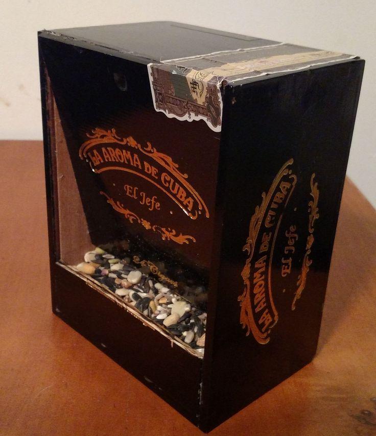 13 best cigar box crafts images on pinterest cigar box for Cardboard cigar box crafts