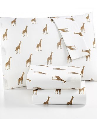 Martha Stewart Whim Collection Novelty Print 200 Thread Count Percale Full Sheet Set, Only at Macy;s - Sheets - Bed & Bath - Macy's