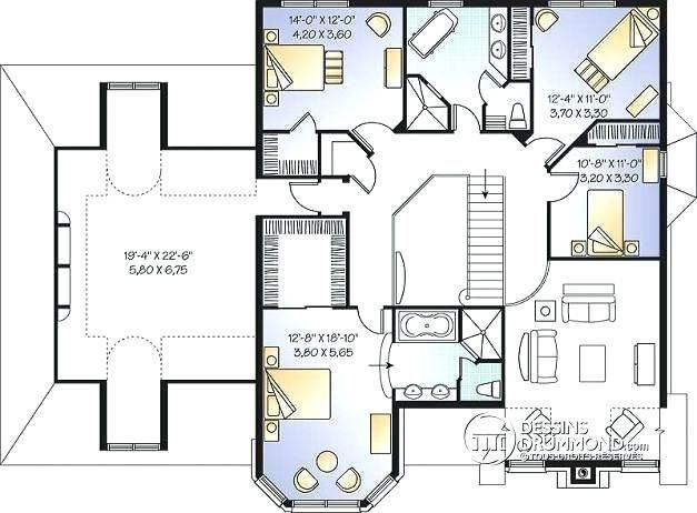Plan Maison Avec Mezzanine Plan De Maison Luxueuse Maison Luxueuse Los Angeles Marc House Plans Architect Design House Design