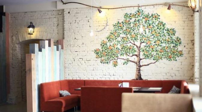 Percantik Dekorasi Ruang Tamu dengan Seni Mozaik http://bit.ly/1CLO2vv