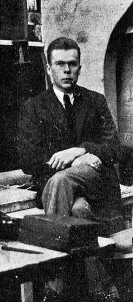 César Domela. Afkomstig uit De Stijl, 7e jaargang, nummer 79/84 (1927): p. 91.