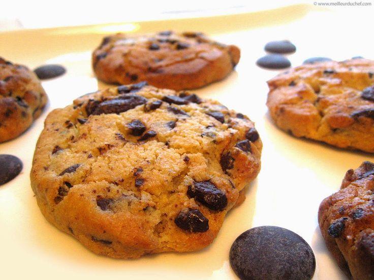 Ζαχαροπλαστική. Γλυκές... απολαύσεις διαφόρων Chef απ'όλο τον κόσμο: Cookies με κομματάκια σοκολάτας