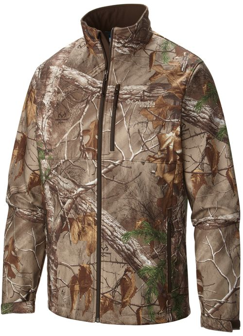 PHG Ascender Camo Softshell Jacket in Realtree Xtra by Columbia Sportswear