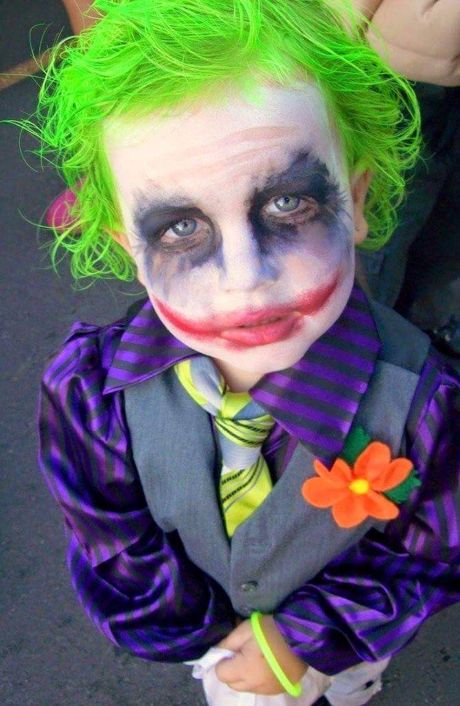 Disfraces de Halloween para niños: Jocker Batman