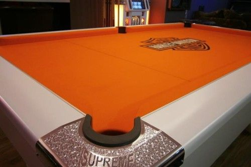 27 Interior Designs with Custom pool tables Interiorforlife.com harley davidson pool table
