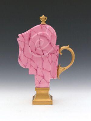 Artist: Adrian Saxe, Title: Untitled Théière (Decor Princesse Cellulite, 1984), 1999 - click for larger image