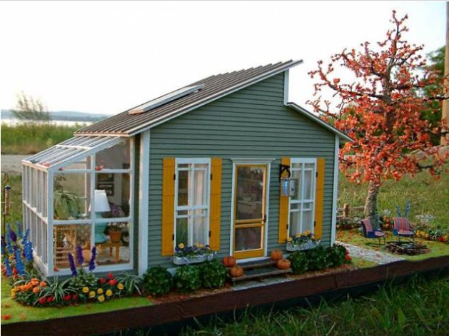 Marvelous 17 Best Ideas About Mini Houses On Pinterest Mini Homes Tiny Largest Home Design Picture Inspirations Pitcheantrous