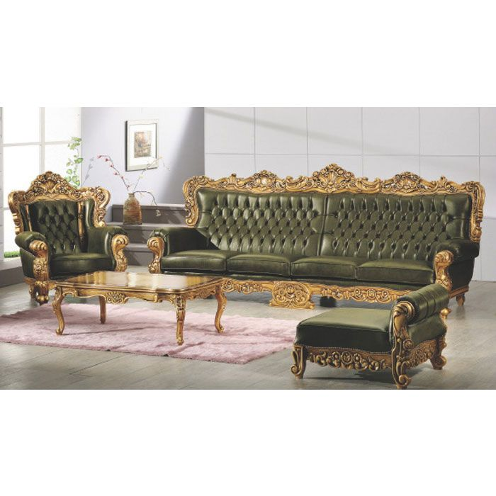 Elegant French Luxurious Sofas Baroque FurnitureFrench Minimalist - Contemporary Baroque sofa Set Simple
