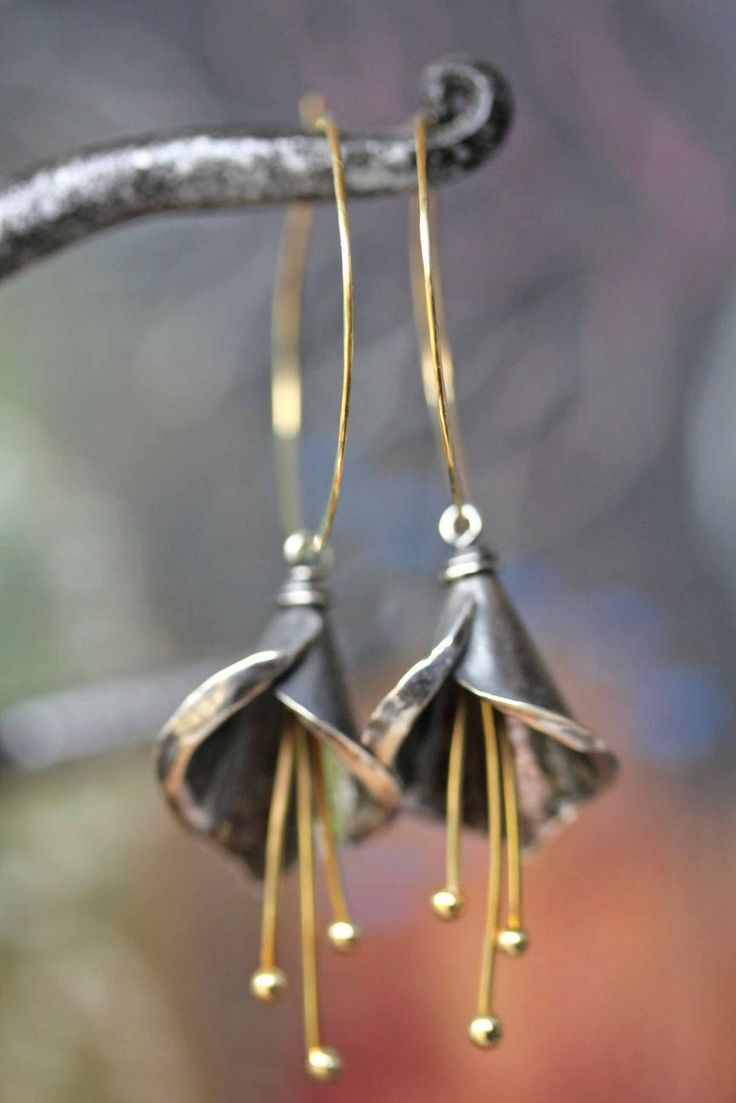 Makin' it with Frankie: Calla Lily Inspired Earrings