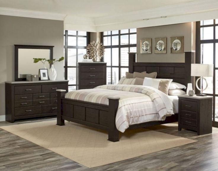 Best 25 Dark Wood Bedroom Furniture Ideas On Pinterest  White Extraordinary Wood Bedroom Sets Review