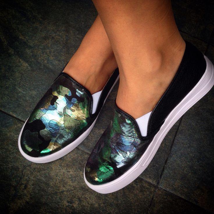 Slip-on zapatos