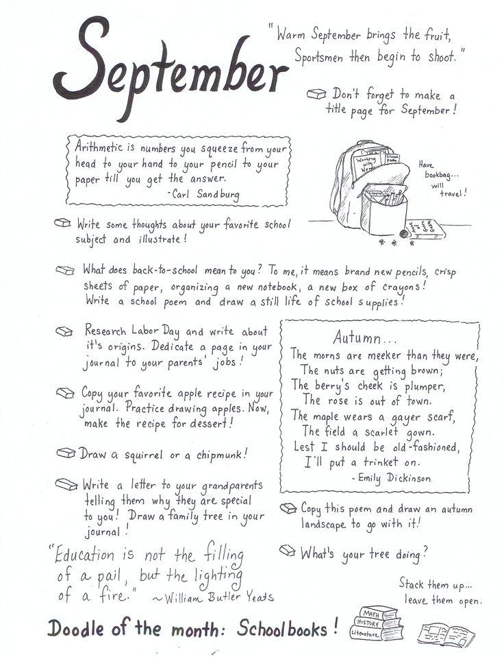 Journal writing art