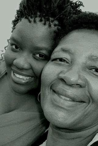 Me (Zanele Lukhele) with my mamabear  (Gugu Lukhele) words fail to explain how much I love my mama, without her I'm nothing!