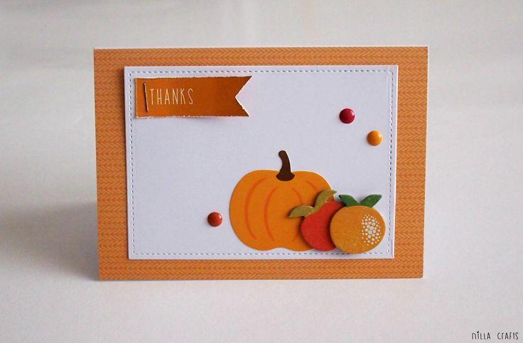 Thanks (September Simple Kit|  #cardmaking #pebblesinc #pebbles #pebblesharvest #thanksgiving #fall #autumn #madewithPebbles