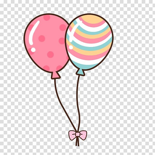 Two Pink And Teal Balloons Illustration Cuteness Android Application Package Cartoon Balloon Transparent Backgrou Balloon Illustration Teal Balloons Clip Art
