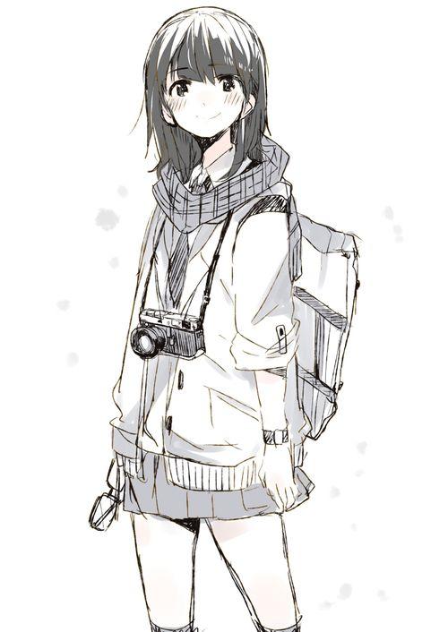 「カメラ女子まとめ」/「塩ラーメン(こってり)」の漫画 [pixiv]