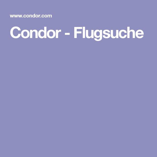 Condor - Flugsuche