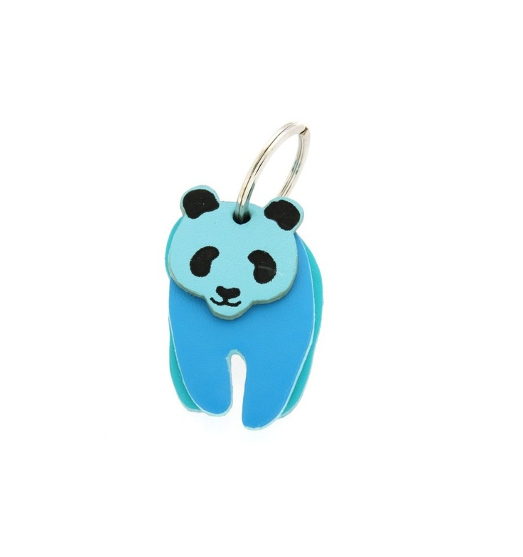 GENUINE MYWALIT Keyrings Panda Key Ringh Female Multicolor - 928-999C, $20