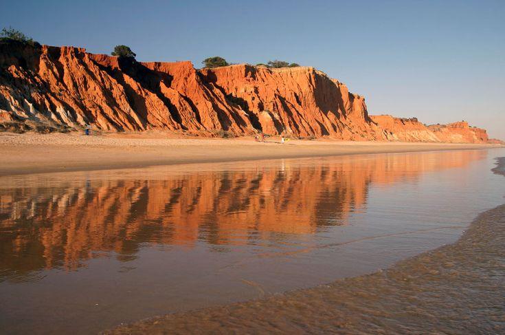 Praia da Falesia, Vilamoura, Portugal