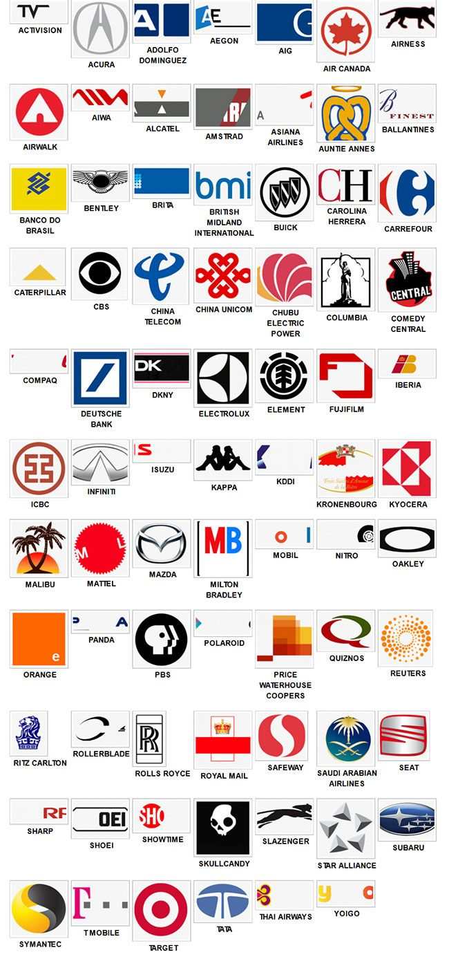 8 best images about Logo Quiz Cheats on Pinterest | Level ...