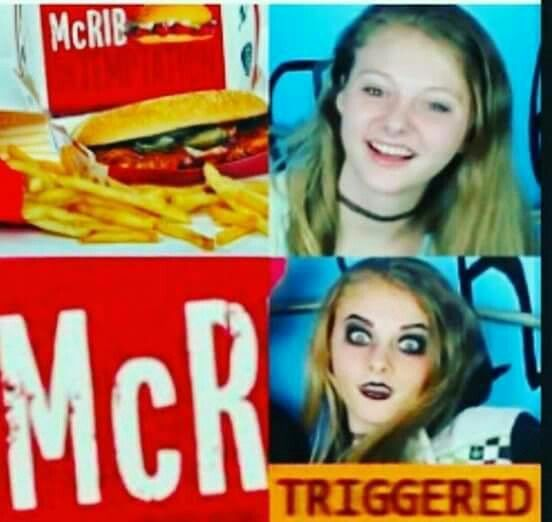 "YES. EVERY SINGLE time I see something starting with ""mc"" , even McDonald's I'm like ""AAAAGHHHNRRR MCR COME WE BACK"" and.Mom is like ""shit, told you WE should have kept her in that mental hospital more"""
