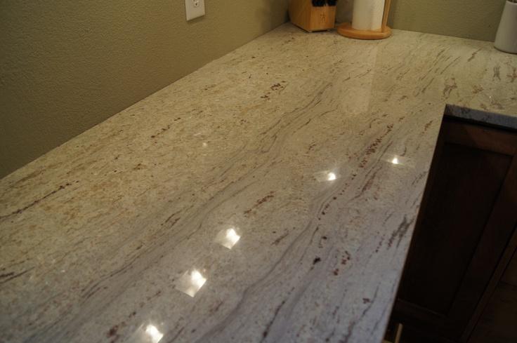 River White Granite Kitchen Pinterest