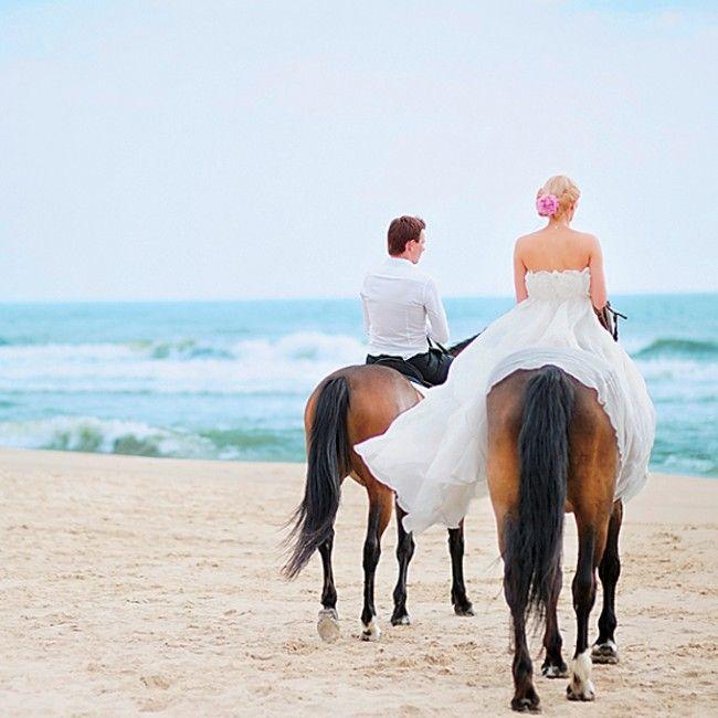 wedding-receptions-getaway-ideas-horse