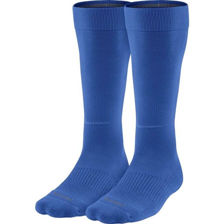 Nike Over-the-Calf Baseball Socks 2 Pack, Size: Small, Blue