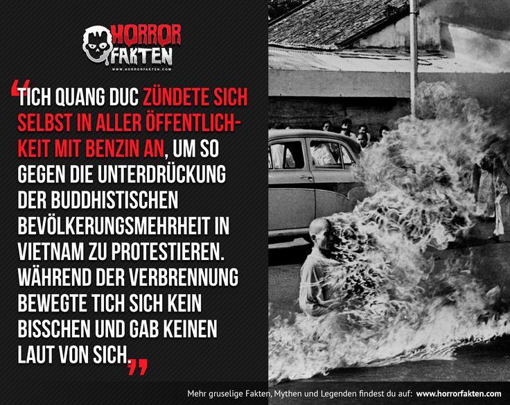 Das Bild ist einigen sicherlich bekannt als Albumcover der Band Rage Against the Machine  #tichquangduc