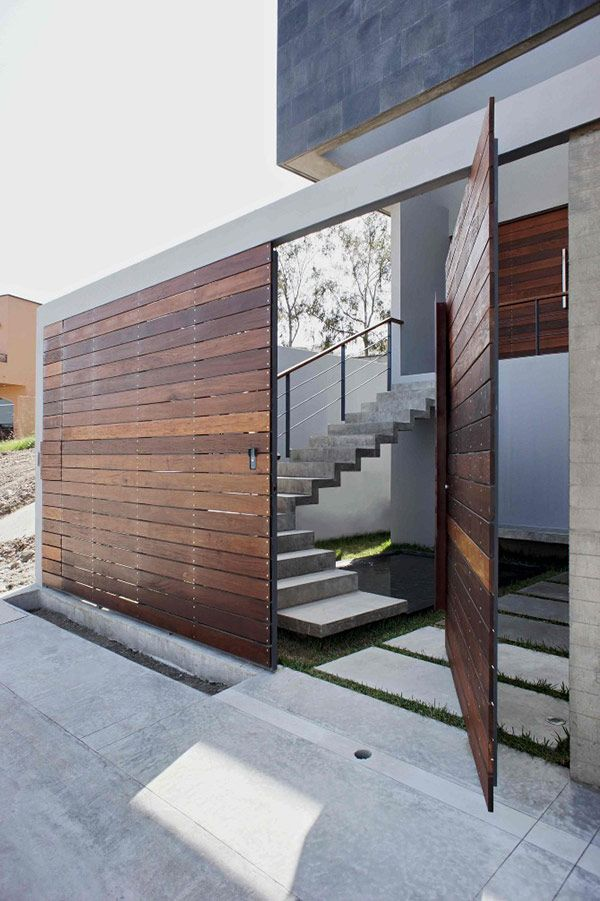 Wall/fence | T38 Studio Modern House Architecture Design Ideas