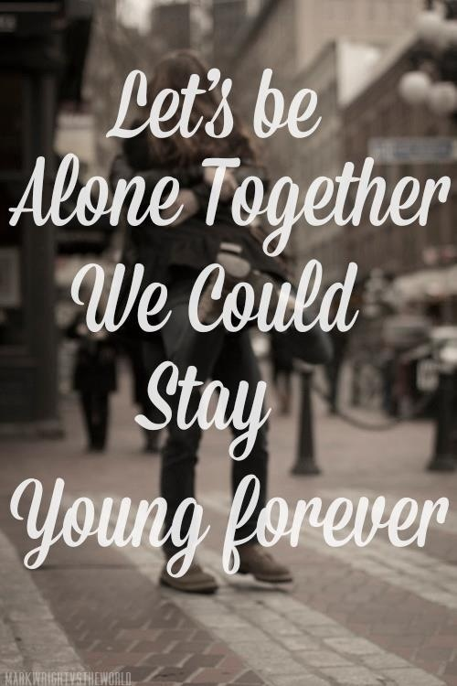 Alone together ~fall out boy