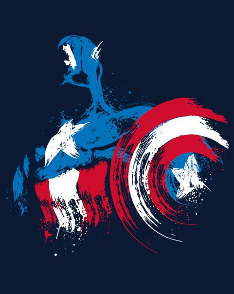 The Captain is Coming T-Shirt $12.99 Captain America tee at Pop Up Tee!